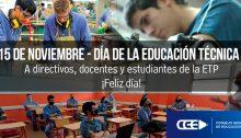 15 de Noviembre-Día de la Educación Técnica