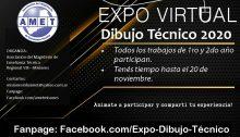 AMET organiza la «Expo Virtual Dibujo Técnico 2020»