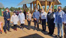 San Vicente: habilitación de la Escuela N° 961 y visita a escuelas de la zona